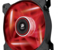 Corsair wentylator AF120 High Airflow Fan 120 mm 3 pin czerwony LED single pack