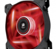 Corsair wentylator SP120 High Static Pressure 120mm 3 pin czerwony LED, single