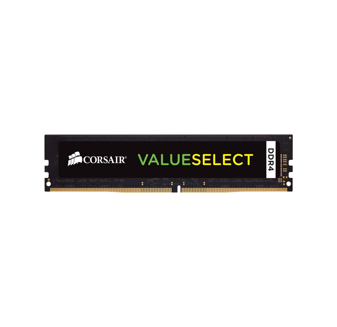 Pamięć RAM Corsair ValueSelect DDR4, 2400MHZ 4GB DIMM 1.20V, Unbuffered,