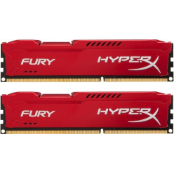 Pamięć RAM Pamięć Ram Kingston 2x4GB 1600MHz DDR3 CL10 DIMM HyperX Fury Red Series