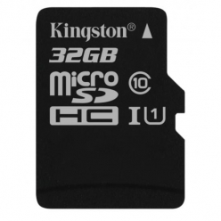 Karta pamięci Kingston 32GB microSDHC Canvas Select 80R CL10 UHS-I Single Pack w/o Adapter