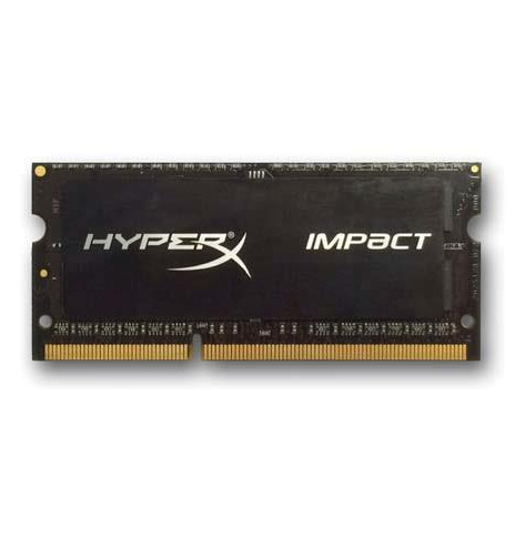 Pamięć Kingston HyperX 2x4GB 2133MHz DDR3L CL11 SODIMM 1.35V Impact Black Series