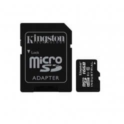 Kingston karta 16GB microSDHC UHS-I Class 10 Industrial Temp Card + SD Adapter