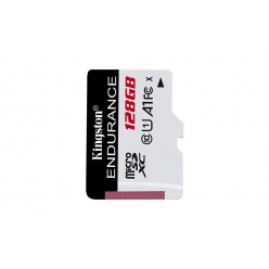 Karta pamięci Kingston 128GB microSDXC Endurance 95R/45W C10 A1 UHS-I Card Only