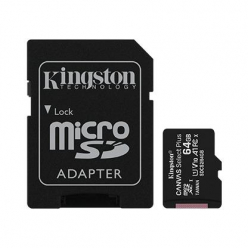 Karta pamięci Kingston 64GB micSDXC Canvas Select Plus 100R A1 C10 Card + ADP